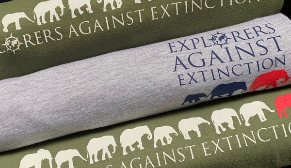 NEW Explorers Against Extinction Tshirt - ladies fit