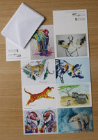 Mini Cards  - Set of 8 mini art cards