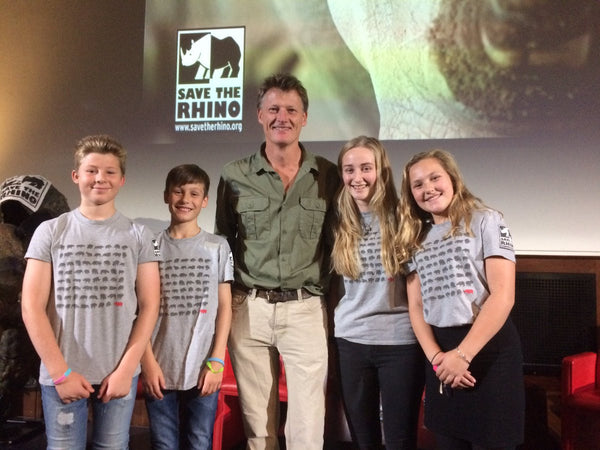 Charity T-shirts - sold in aid of Save the Rhino International
