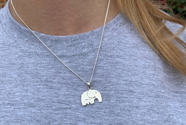 Titchy Tembo Silver Pendant