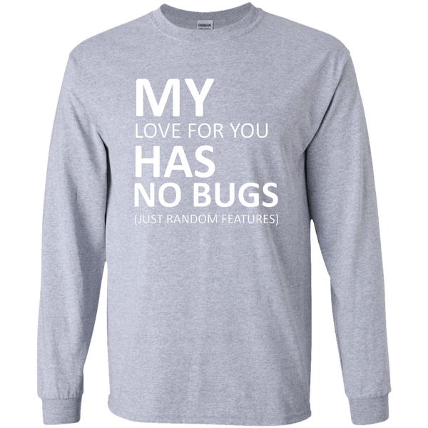 My love has no bugs