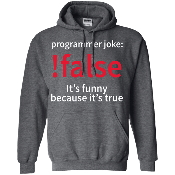 !false - Programmer joke - Tshirt, Hoodie, Longsleeve, Caps, Case - All at Tee++