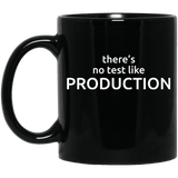 There's No Test Like Production (mug)