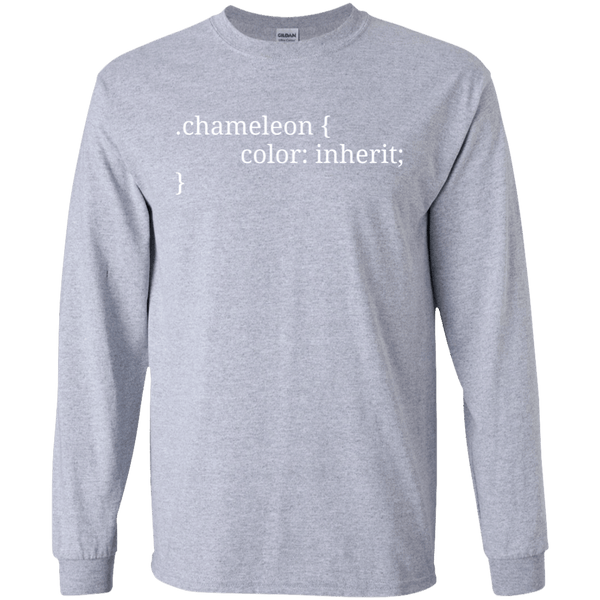 Chameleon color: inherit - Tshirt, Hoodie, Longsleeve, Caps, Case - All at Tee++