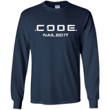 Code - nailed it - Programming Tshirt, Hoodie, Longsleeve, Caps, Case - Tee++