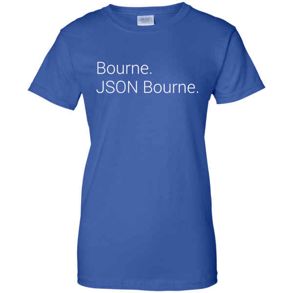 JSON Bourne (ladies) - Tshirt, Hoodie, Longsleeve, Caps, Case - All at Tee++