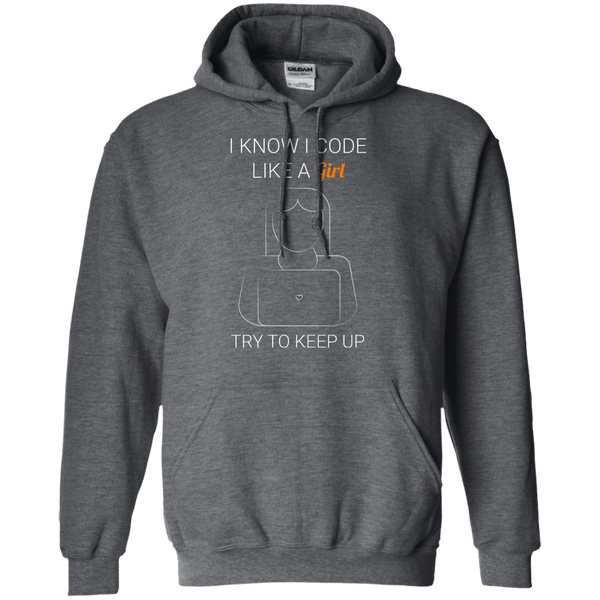 Backup Copy of I Code Like a Girl - Programming Tshirt, Hoodie, Longsleeve, Caps, Case - Tee++