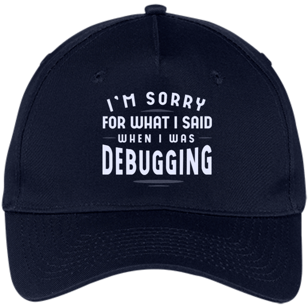 Sorry For What I Said (caps) - Programming Tshirt, Hoodie, Longsleeve, Caps, Case - Tee++