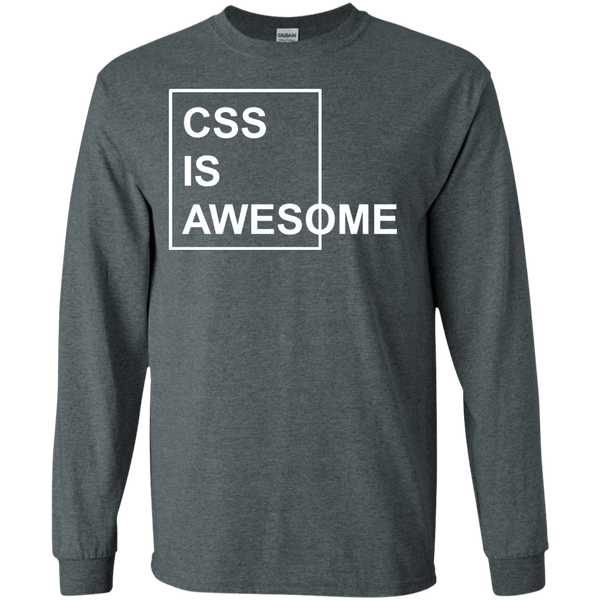 CSS is Awesome - Tshirt, Hoodie, Longsleeve, Caps, Case - All at Tee++