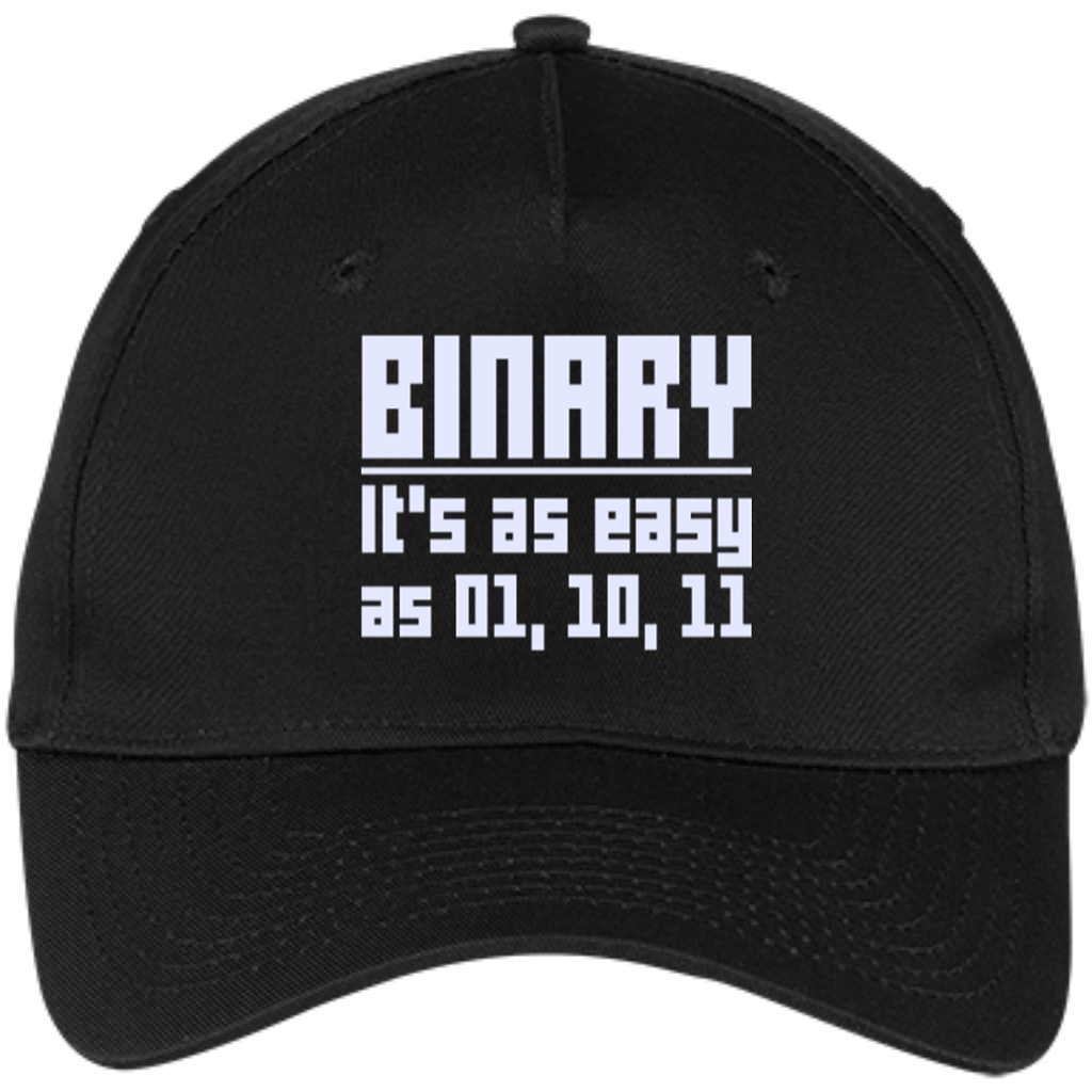 Binary (caps) - Tshirt, Hoodie, Longsleeve, Caps, Case - All at Tee++