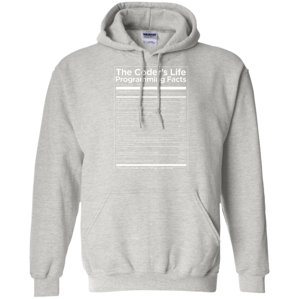 The Coder's Life Programming Facts - Tshirt, Hoodie, Longsleeve, Caps, Case - All at Tee++