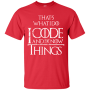 I Code and I Know Things