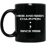Hide and Seek (mug) - Programming Tshirt, Hoodie, Longsleeve, Caps, Case - Tee++