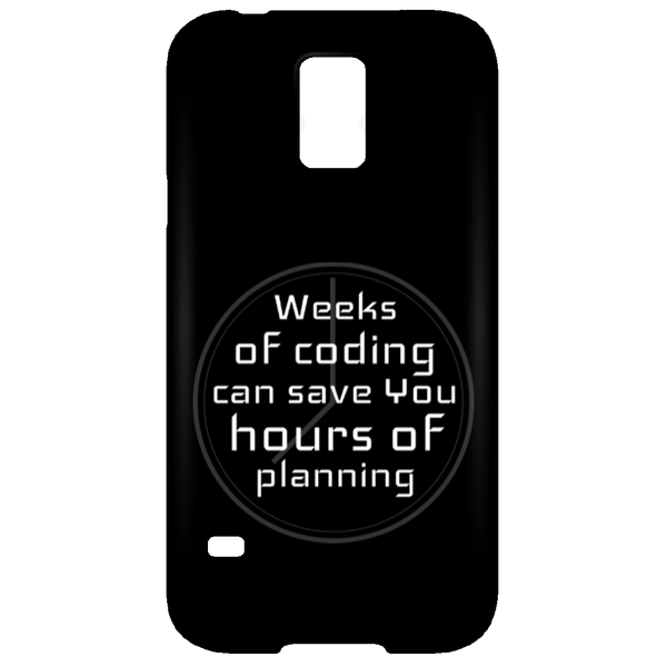 Weeks of Coding (phone case)