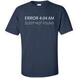 Error 4:04 AM (tall) - Tshirt, Hoodie, Longsleeve, Caps, Case - All at Tee++