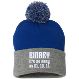 Binary (winter caps) - Tshirt, Hoodie, Longsleeve, Caps, Case - All at Tee++