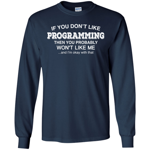 Don't Like Programming