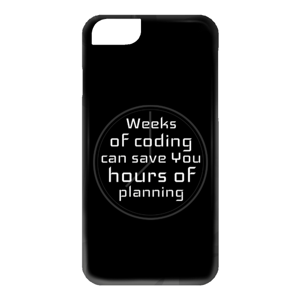Weeks of Coding (phone case) - Programming Tshirt, Hoodie, Longsleeve, Caps, Case - Tee++