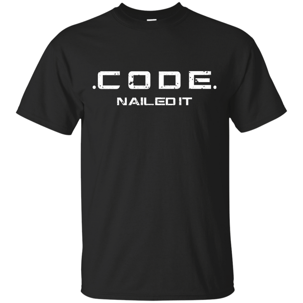 Code - nailed it