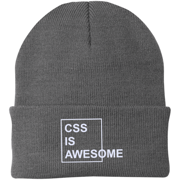 CSS is Awesome (winter caps) - Tshirt, Hoodie, Longsleeve, Caps, Case - All at Tee++