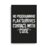 No Plan Survives (canvas)
