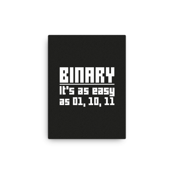 Binary is easy (canvas)