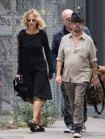meg ryan wearing hazel brown