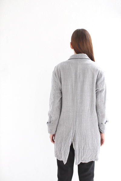 20.3.14 Ghost Wool Over Coat/ Grey