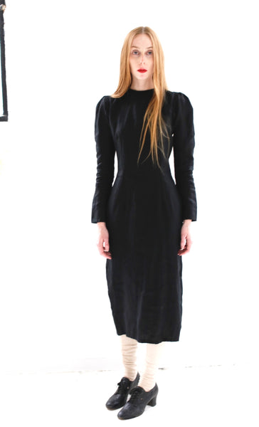 19.4.08 3/4 Length Dress with Side Zip