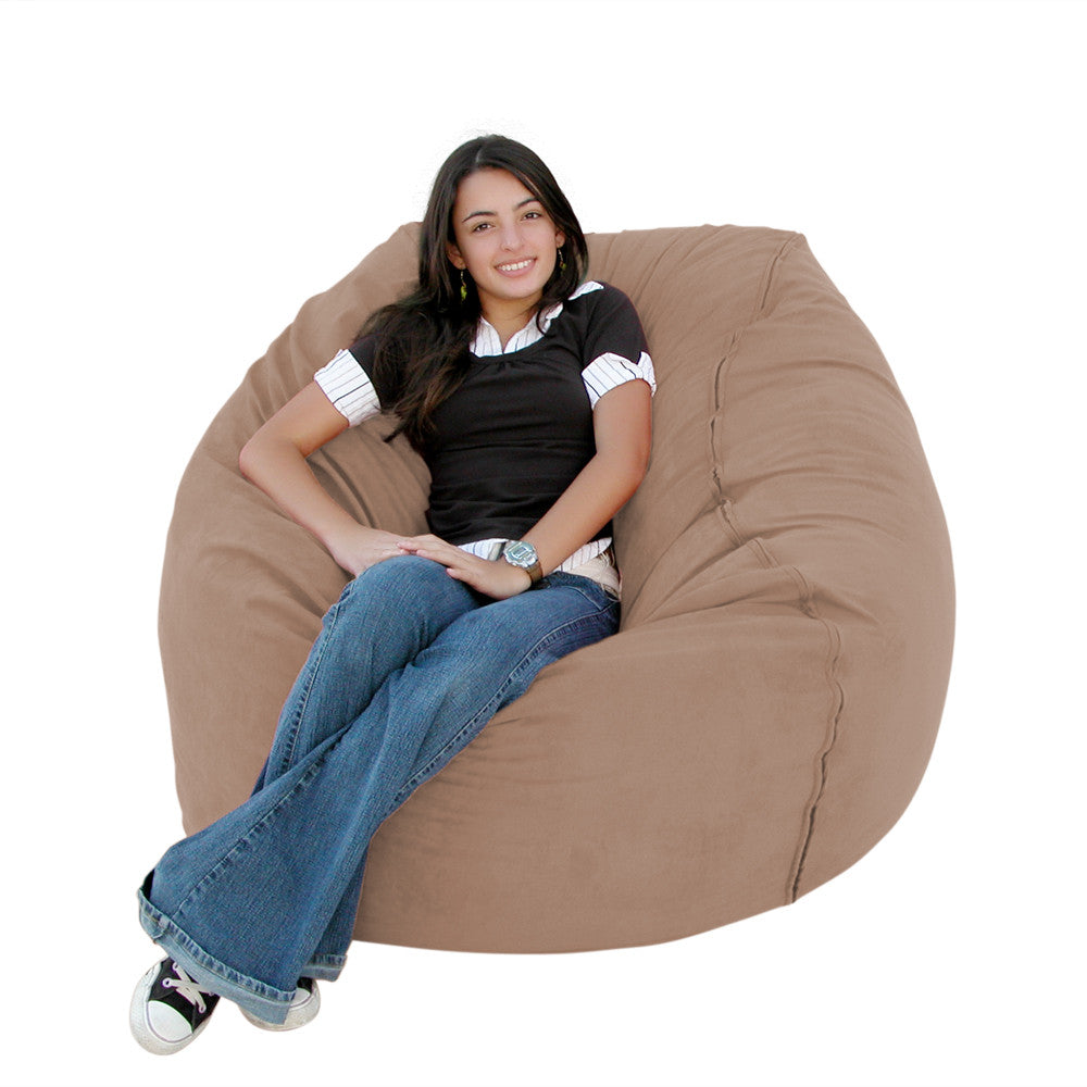 Buckskin bean bag chair