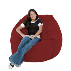 Cinnabar bean bag chair