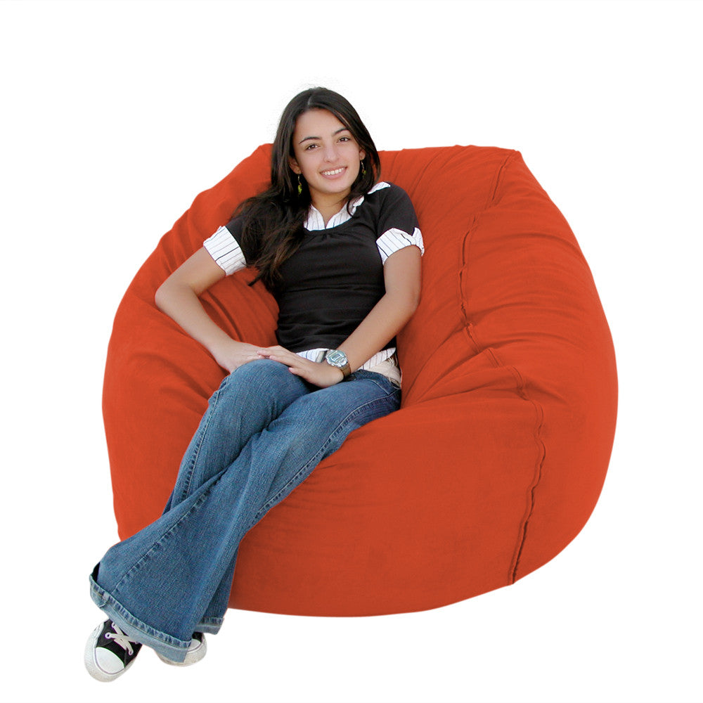 Pumpkin bean bag chair