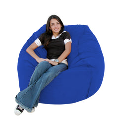 Royal Blue bean bag chair