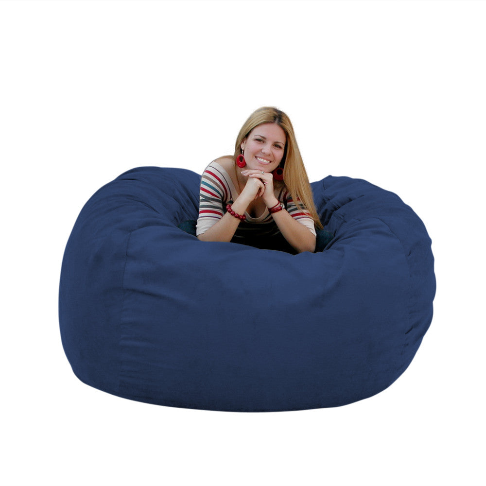 Gentil Navy Bean Bag