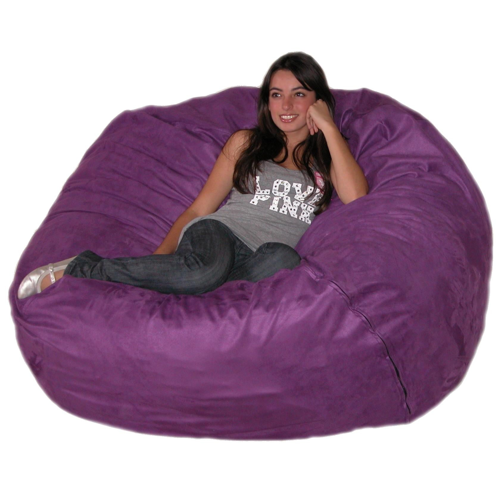 Purple Beanbag Chair