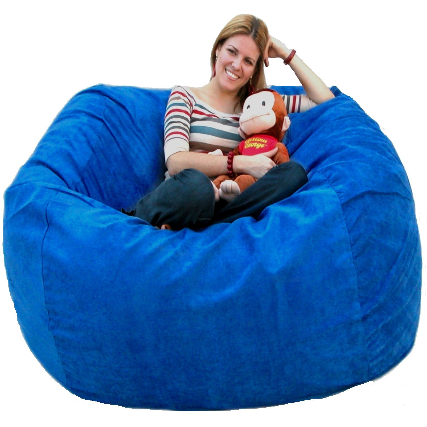 Royal Blue Beanbag Chair