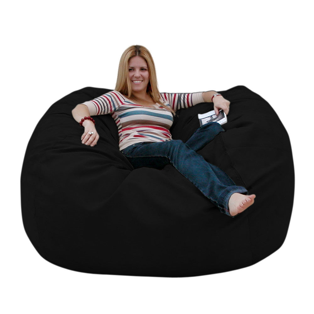 Delicieux Black Beanbag Chair