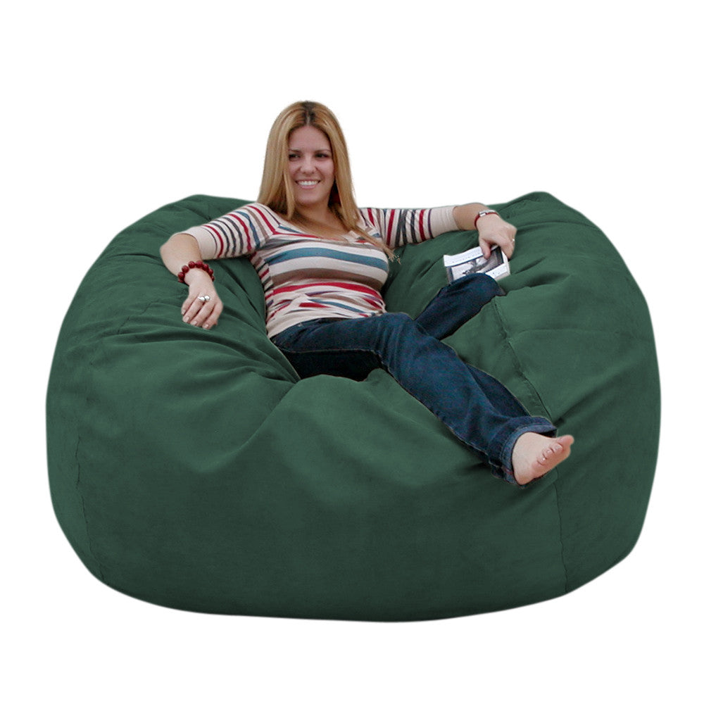 Elegant Green Beanbag Chair