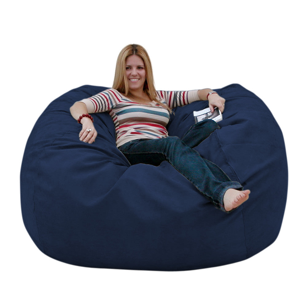 Navy Blue Beanbag Chair