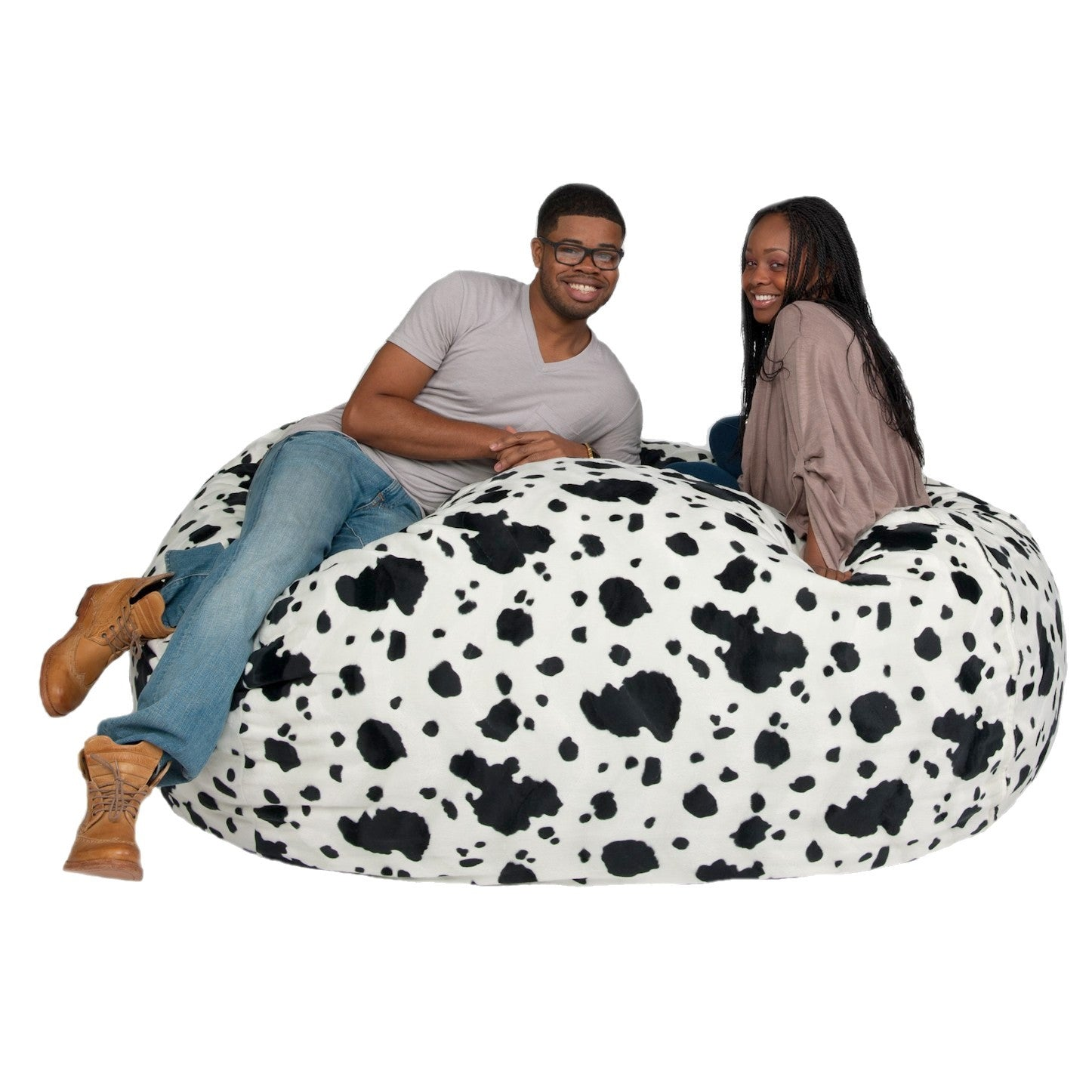 Bean Bag Chair 6 Foot Cozy Sack Premium Foam Filled Liner