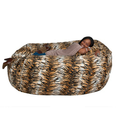 tiger bean bag