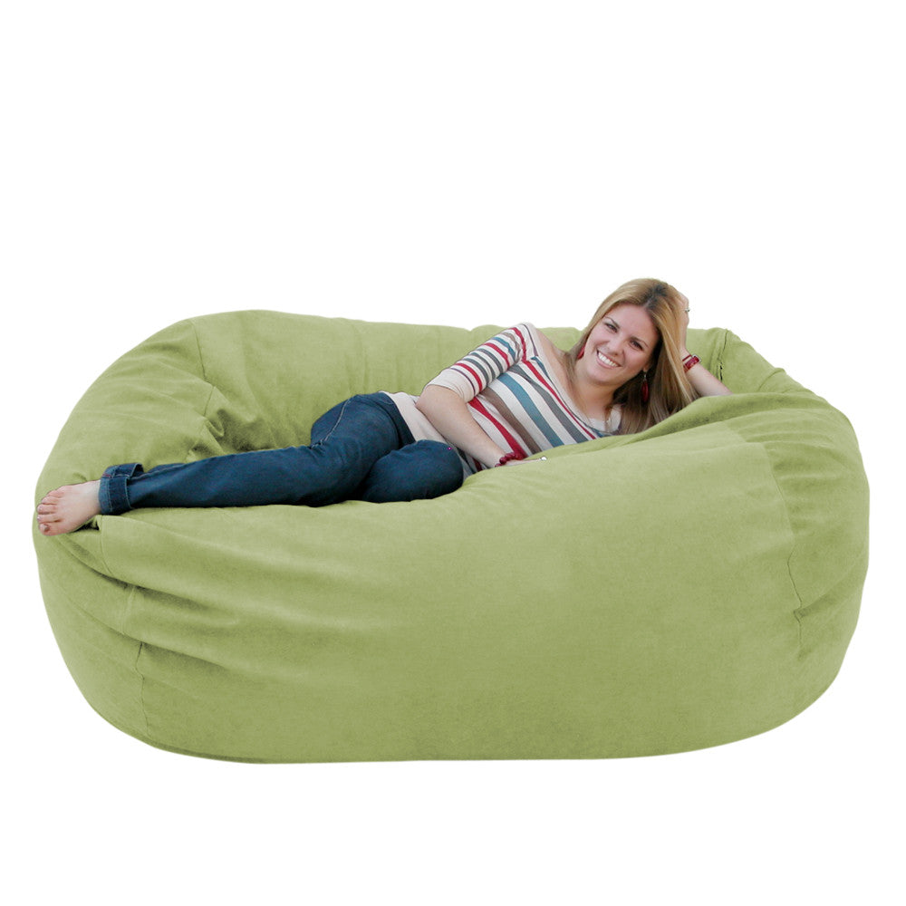 lime bean bag