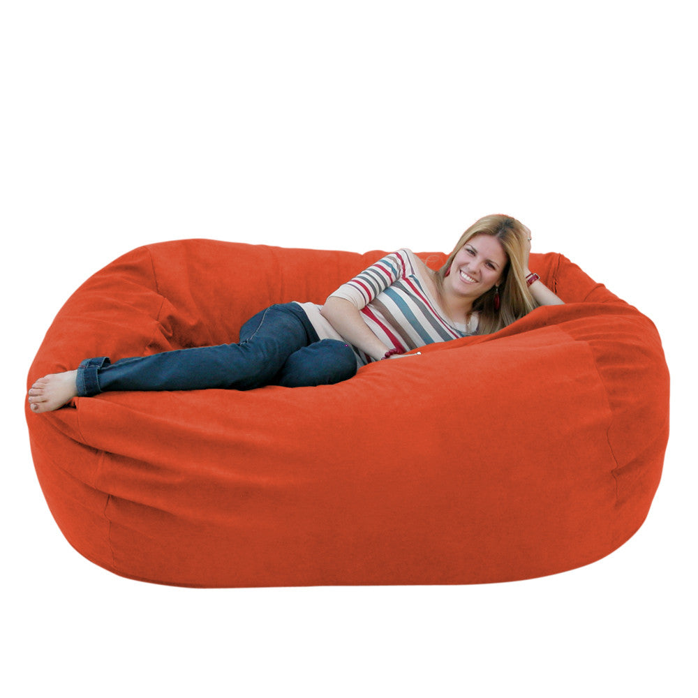 pumpkin bean bag