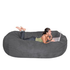 Grey Beanbag Chair