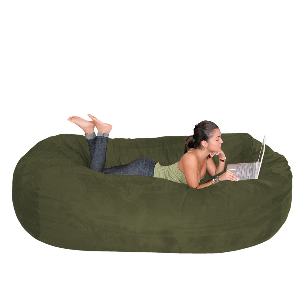 Olive Beanbag Chair