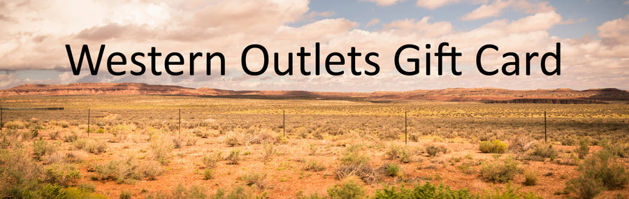 Western Outlets Gift Card