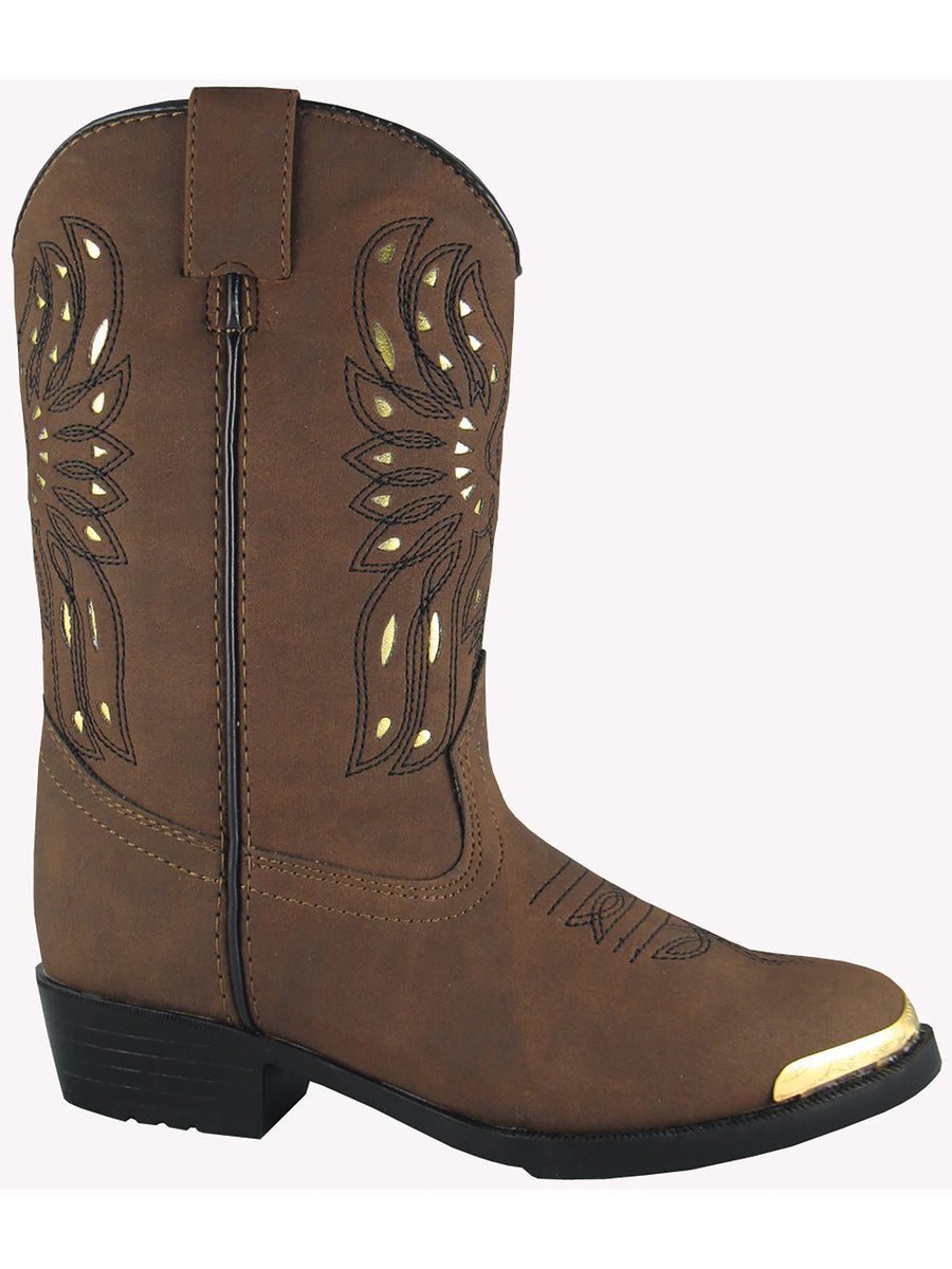 Smoky Mountain 1016 Youth Phoenix Brown Western Cowboy Boot
