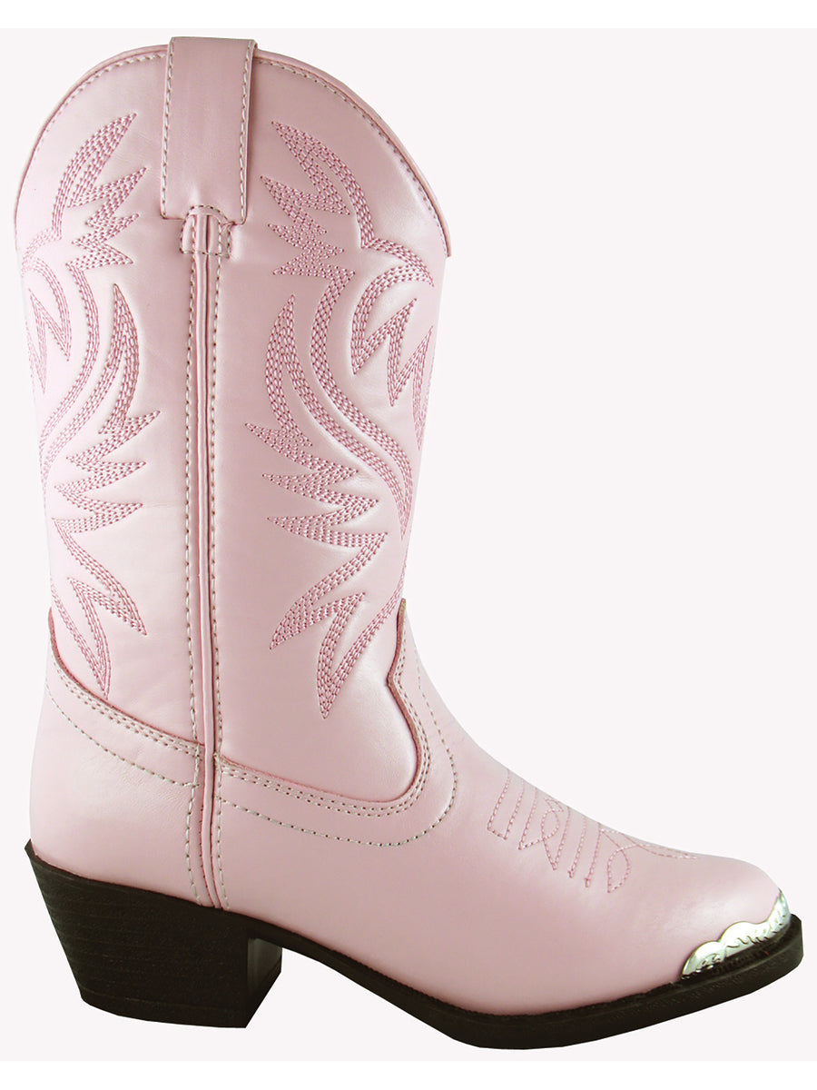 Smoky Mountain Childrens Pink Mesquite Western Cowboy Boot
