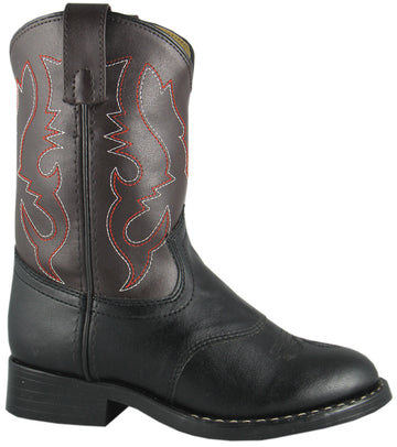 Smoky Mountain Boy's Diego Western Cowboy Boot Black/Brown - westernoutlets