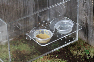 Suction Cup Acrylic Ledge - Large